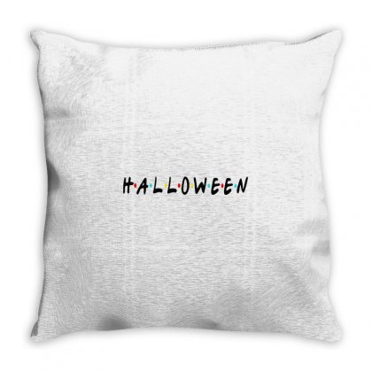Halloween For Light Throw Pillow Designed By Pinkanzee