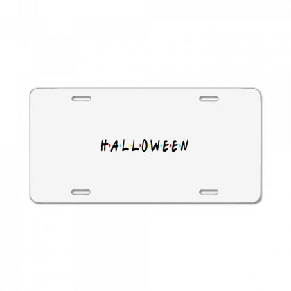Halloween For Light License Plate Designed By Pinkanzee