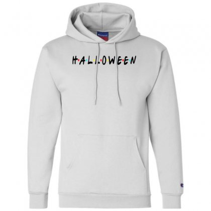 Halloween For Light Champion Hoodie Designed By Pinkanzee