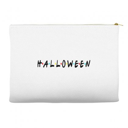 Halloween For Light Accessory Pouches Designed By Pinkanzee