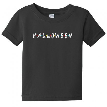Halloween For Dark Baby Tee Designed By Pinkanzee