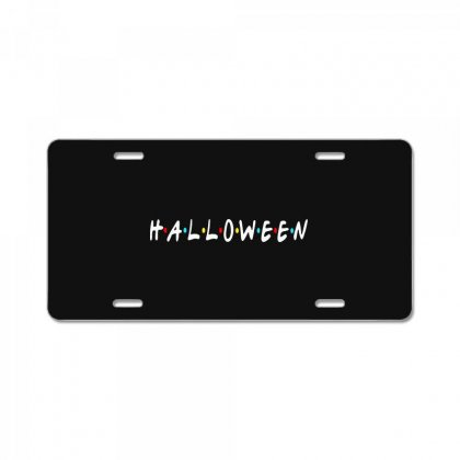 Halloween For Dark License Plate Designed By Pinkanzee