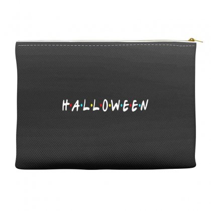 Halloween For Dark Accessory Pouches Designed By Pinkanzee