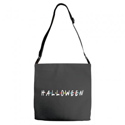 Halloween For Dark Adjustable Strap Totes Designed By Pinkanzee