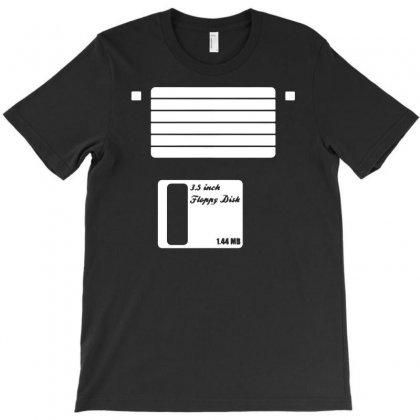 Floppy Disk T-shirt Designed By Funtee