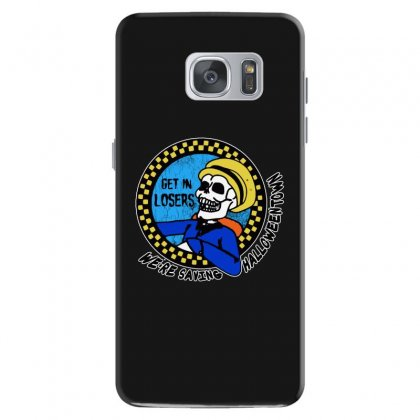 Get In Losers Skull We're Saving Halloween Town Samsung Galaxy S7 Case Designed By Pinkanzee