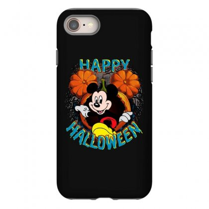 Funny Mickey Mouse Pumpkin Happy Halloween Iphone 8 Case Designed By Pinkanzee