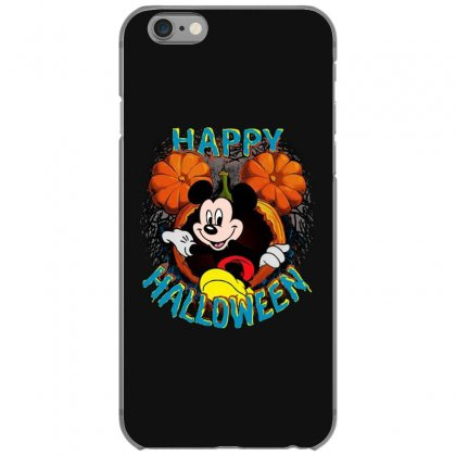 Funny Mickey Mouse Pumpkin Happy Halloween Iphone 6/6s Case Designed By Pinkanzee