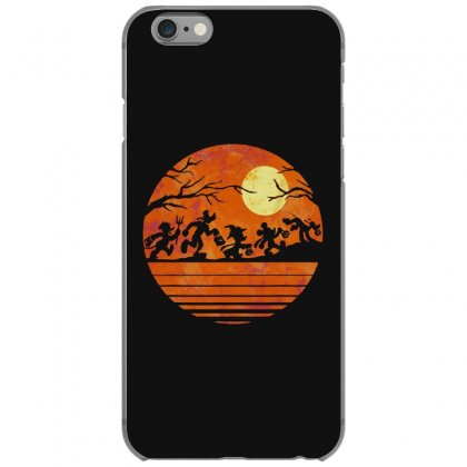 Funny Halloween Walk Under The Moon   Funny Mickey Mouse And Friends T Iphone 6/6s Case Designed By Pinkanzee