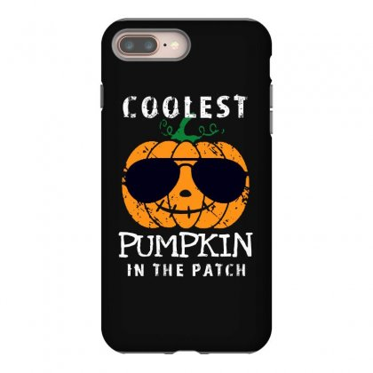 Funny Halloween Coolest Pumpkin In The Patch Iphone 8 Plus Case Designed By Pinkanzee