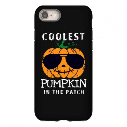 Funny Halloween Coolest Pumpkin In The Patch Iphone 8 Case Designed By Pinkanzee