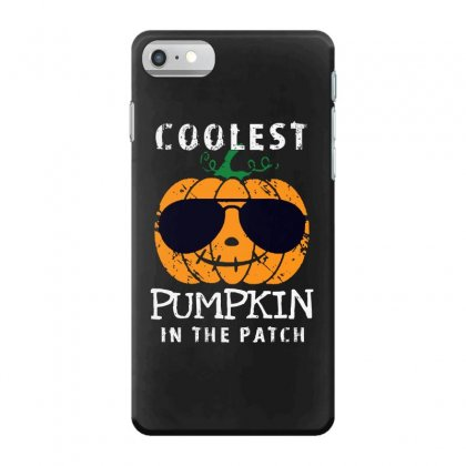 Funny Halloween Coolest Pumpkin In The Patch Iphone 7 Case Designed By Pinkanzee