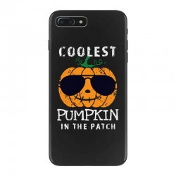 funny halloween coolest pumpkin in the patch iPhone 7 Plus Case | Artistshot
