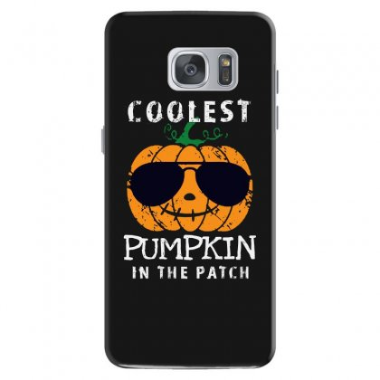 Funny Halloween Coolest Pumpkin In The Patch Samsung Galaxy S7 Case Designed By Pinkanzee