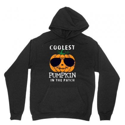 Funny Halloween Coolest Pumpkin In The Patch Unisex Hoodie Designed By Pinkanzee