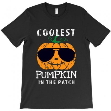Funny Halloween Coolest Pumpkin In The Patch T-shirt Designed By Pinkanzee