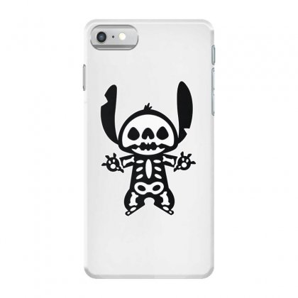 Funny Disney Stitch Halloween Skeleton Iphone 7 Case Designed By Pinkanzee