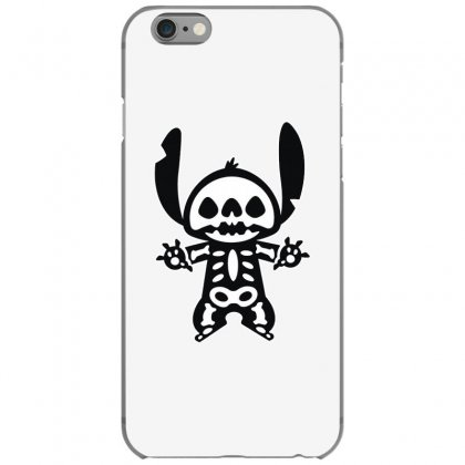 Funny Disney Stitch Halloween Skeleton Iphone 6/6s Case Designed By Pinkanzee