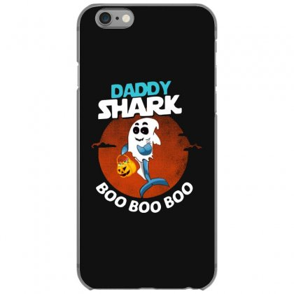 Funny Daddy Shark Boo Boo Boo Shark Ghost Halloween For Dark Iphone 6/6s Case Designed By Pinkanzee