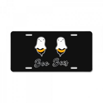 Funny Boo Bees Halloween License Plate Designed By Pinkanzee