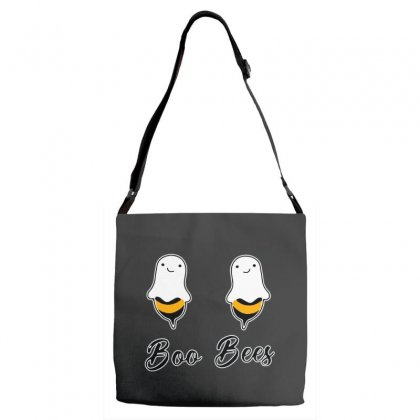 Funny Boo Bees Halloween Adjustable Strap Totes Designed By Pinkanzee