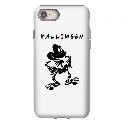 Funny  Mickey Mouse Skeleton Halloween For Light Iphone 8 Case Designed By Pinkanzee