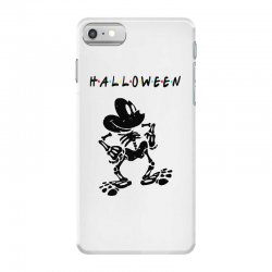 funny  mickey mouse skeleton halloween for light iPhone 7 Case | Artistshot