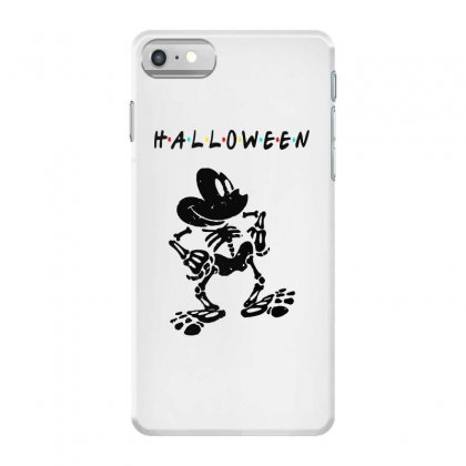 Funny  Mickey Mouse Skeleton Halloween For Light Iphone 7 Case Designed By Pinkanzee