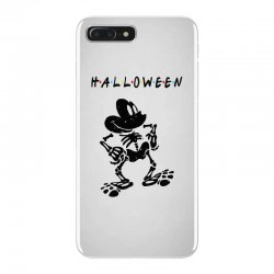 funny  mickey mouse skeleton halloween for light iPhone 7 Plus Case | Artistshot