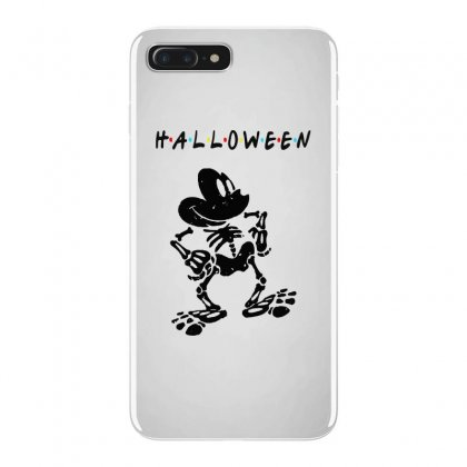 Funny  Mickey Mouse Skeleton Halloween For Light Iphone 7 Plus Case Designed By Pinkanzee