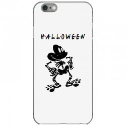 funny  mickey mouse skeleton halloween for light iPhone 6/6s Case | Artistshot