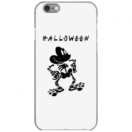 Funny  Mickey Mouse Skeleton Halloween For Light Iphone 6/6s Case Designed By Pinkanzee