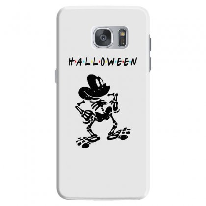 Funny  Mickey Mouse Skeleton Halloween For Light Samsung Galaxy S7 Case Designed By Pinkanzee