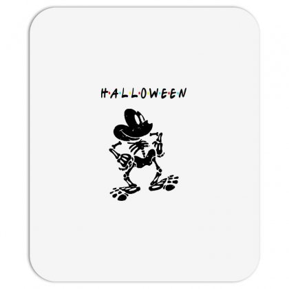 Funny  Mickey Mouse Skeleton Halloween For Light Mousepad Designed By Pinkanzee