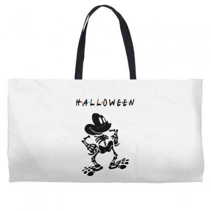 Funny  Mickey Mouse Skeleton Halloween For Light Weekender Totes Designed By Pinkanzee