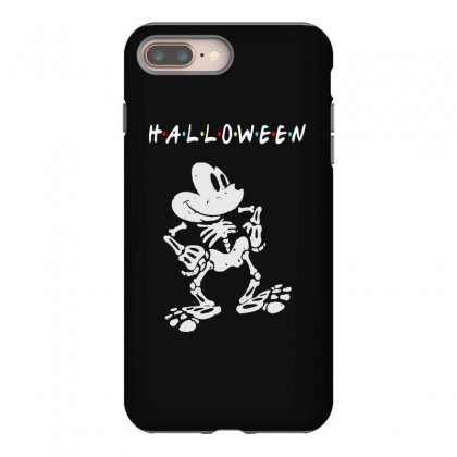 Funny  Mickey Mouse Skeleton Halloween For Dark Iphone 8 Plus Case Designed By Pinkanzee