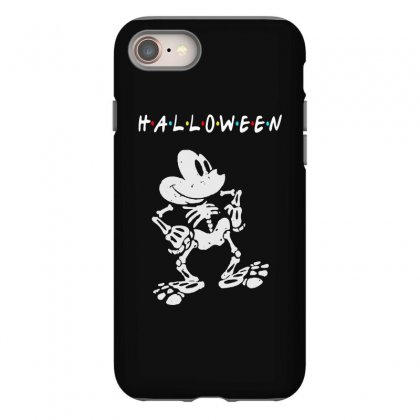 Funny  Mickey Mouse Skeleton Halloween For Dark Iphone 8 Case Designed By Pinkanzee