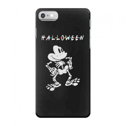 Funny  Mickey Mouse Skeleton Halloween For Dark Iphone 7 Case Designed By Pinkanzee