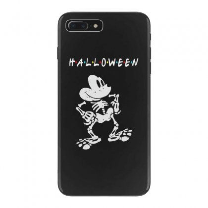 Funny  Mickey Mouse Skeleton Halloween For Dark Iphone 7 Plus Case Designed By Pinkanzee