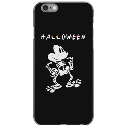 Funny  Mickey Mouse Skeleton Halloween For Dark Iphone 6/6s Case Designed By Pinkanzee