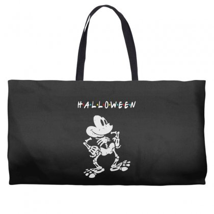 Funny  Mickey Mouse Skeleton Halloween For Dark Weekender Totes Designed By Pinkanzee