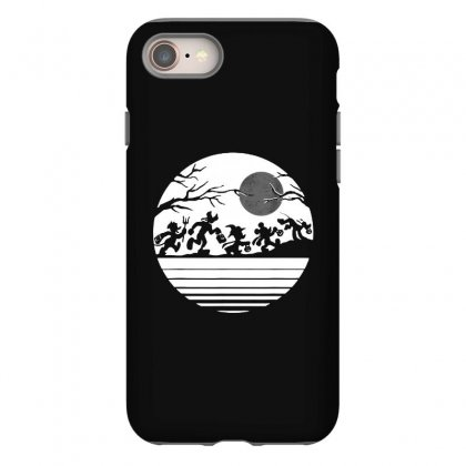 Funny  Mickey Mouse And Friends Trick Or Treat Halloween Walk Under Th Iphone 8 Case Designed By Pinkanzee