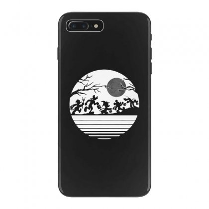 Funny  Mickey Mouse And Friends Trick Or Treat Halloween Walk Under Th Iphone 7 Plus Case Designed By Pinkanzee