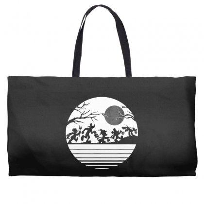 Funny  Mickey Mouse And Friends Trick Or Treat Halloween Walk Under Th Weekender Totes Designed By Pinkanzee