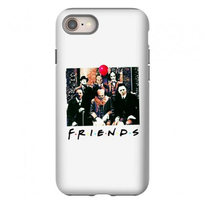 Friends Spooky Clown Jason Squad Halloween Horror For Light Iphone 8 Case Designed By Pinkanzee