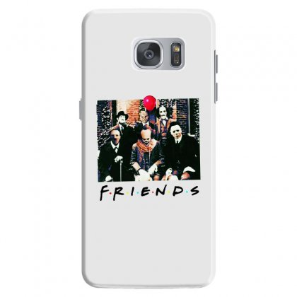 Friends Spooky Clown Jason Squad Halloween Horror For Light Samsung Galaxy S7 Case Designed By Pinkanzee