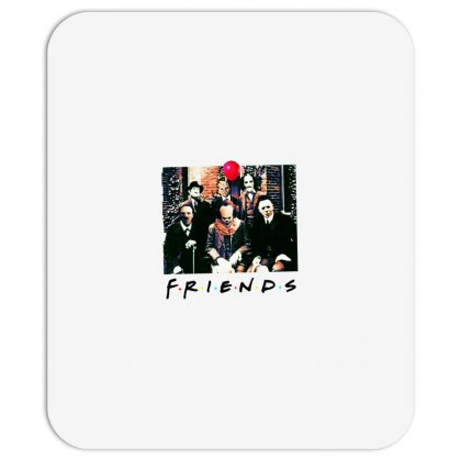 Friends Spooky Clown Jason Squad Halloween Horror For Light Mousepad Designed By Pinkanzee
