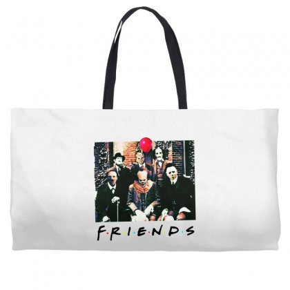 Friends Spooky Clown Jason Squad Halloween Horror For Light Weekender Totes Designed By Pinkanzee