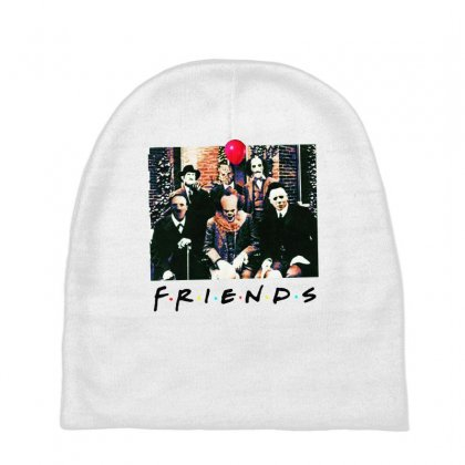 Friends Spooky Clown Jason Squad Halloween Horror For Light Baby Beanies Designed By Pinkanzee