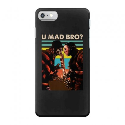Freddy Krueger And Jason Voorhees U Mad Bro Funny Halloween Iphone 7 Case Designed By Pinkanzee